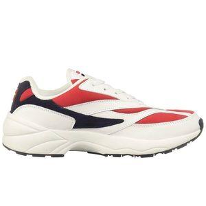 Men's Fila Athletic shoes sneakers white red kicks